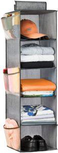 5-Shelf closet organizer